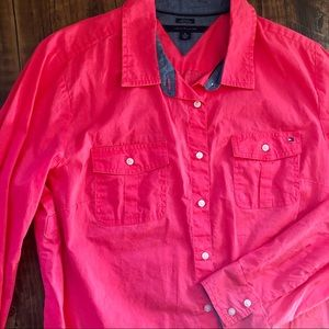 NWOT Tommy Hilfiger Button Down Long Sleeve